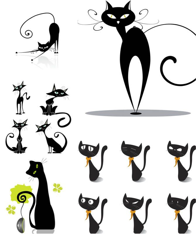 Clipart cat illustration. Pin by dina on