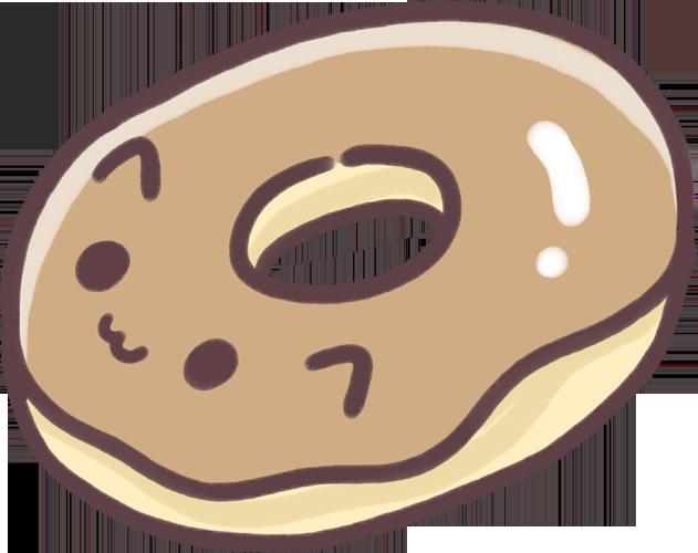 Free cute goodies japan. Donuts clipart kawaii