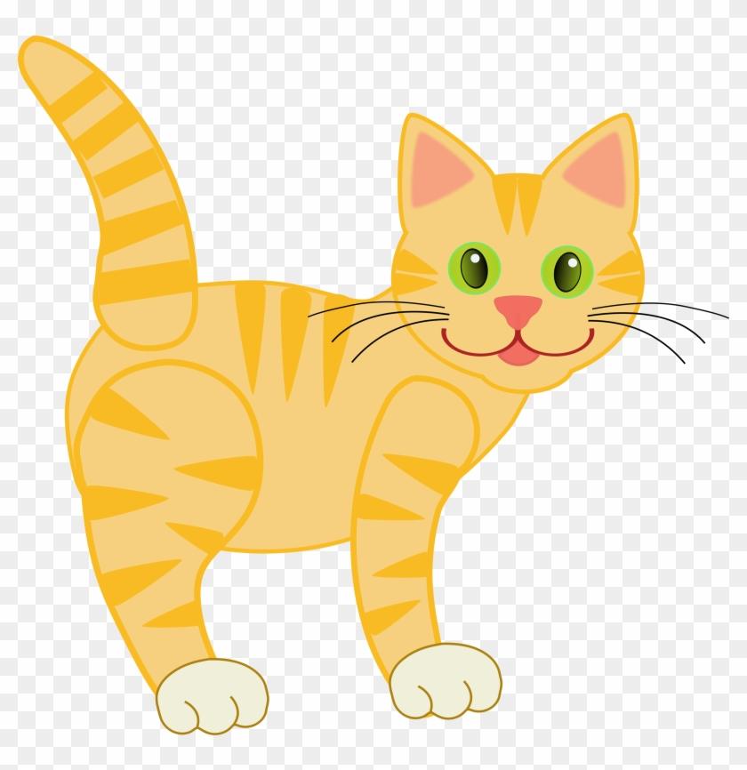 Kitten cute cats image. Clipart kid cat