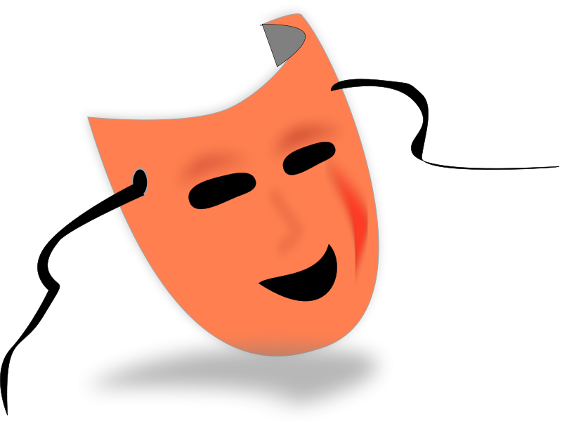 Halloween clipart face. Free fun cute scary