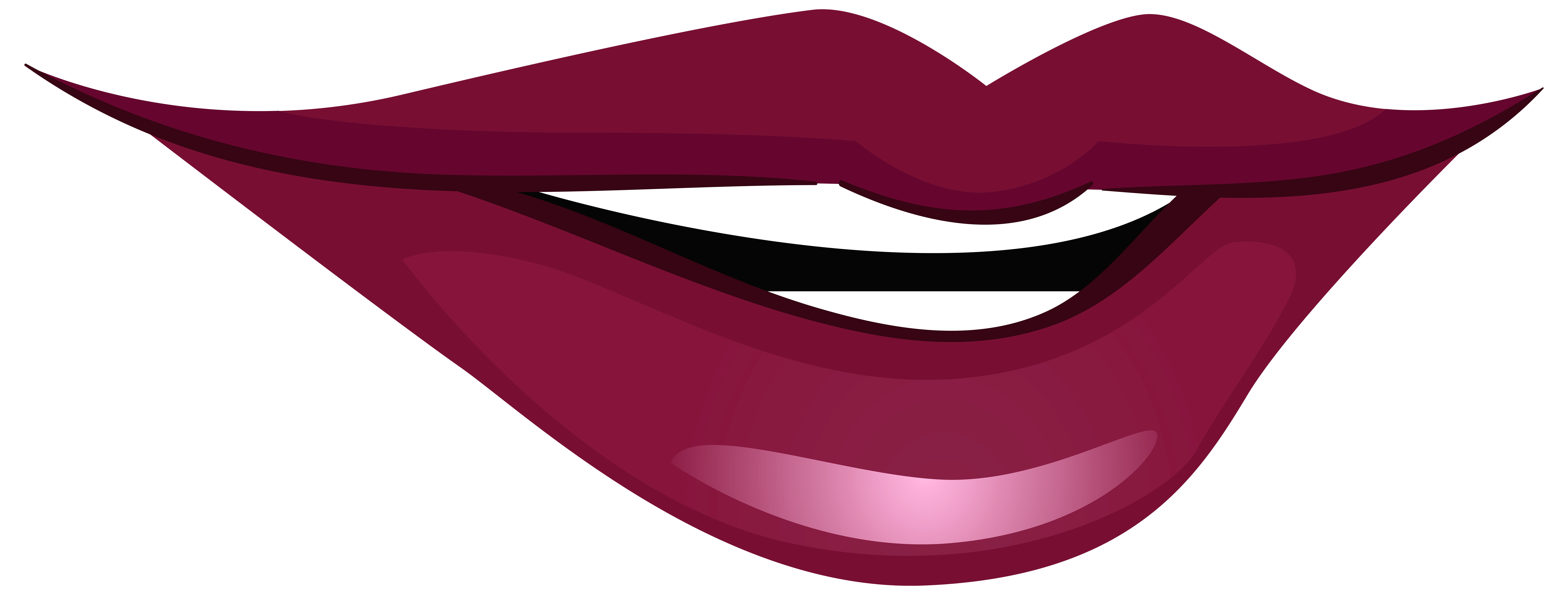 Laughing lips gallery by. Clipart cat mouth