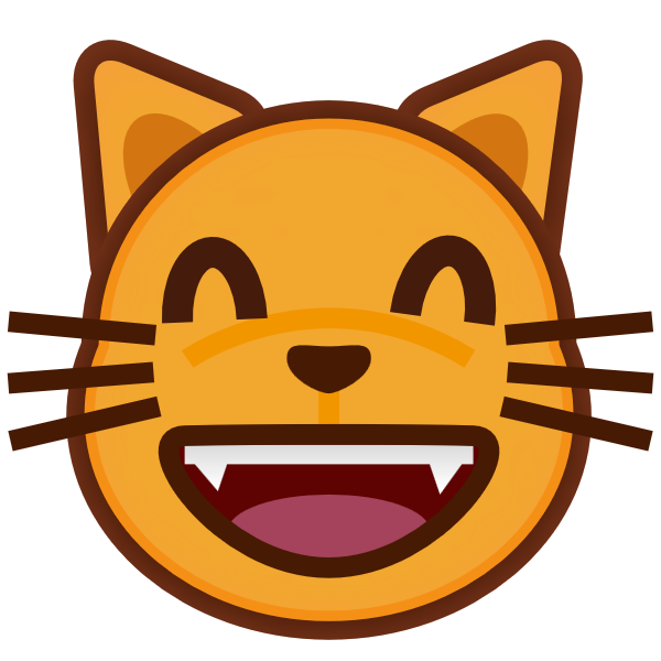 App happy five must. Clipart cat mouth