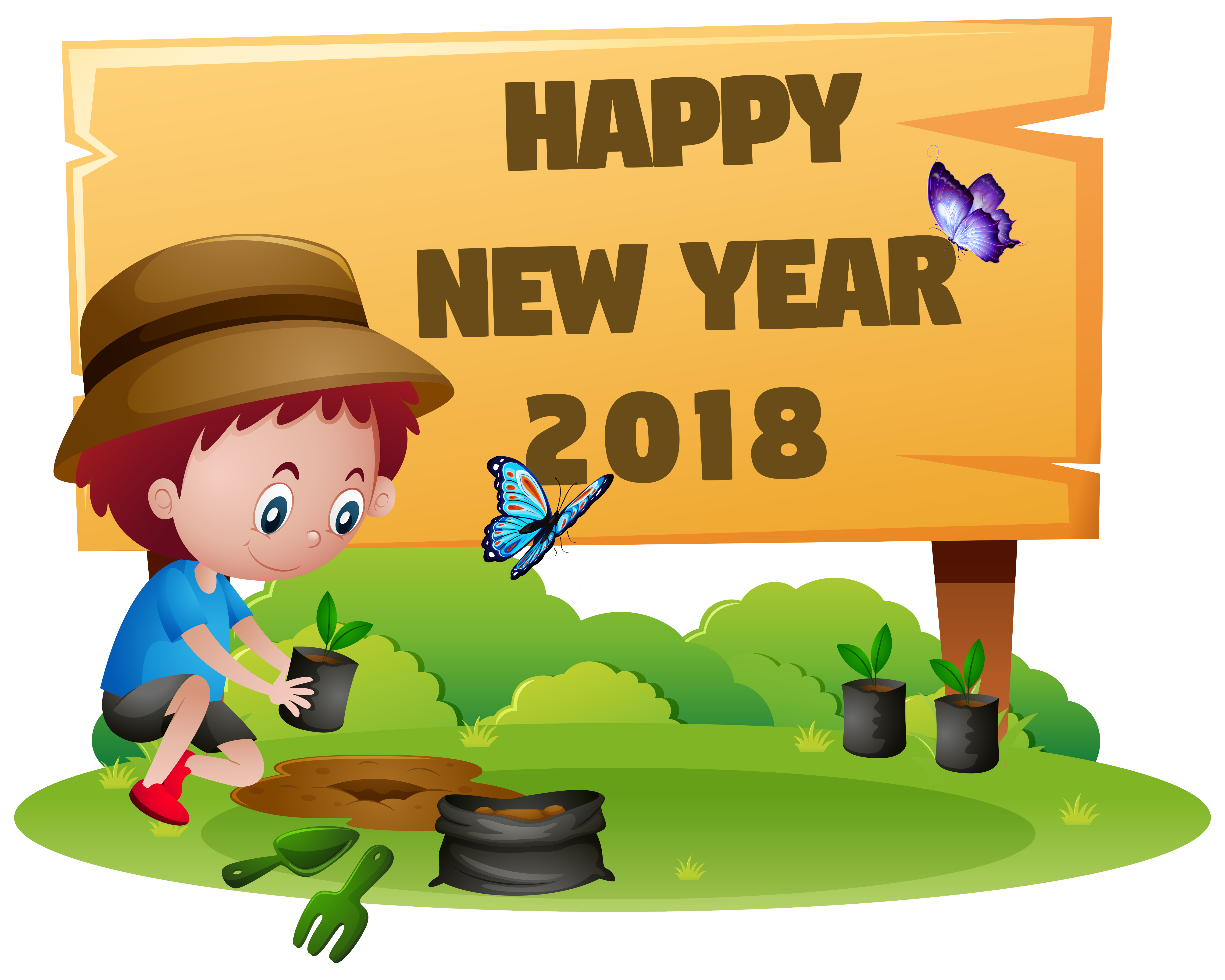 Clip art funny coloring. Clipart free new year