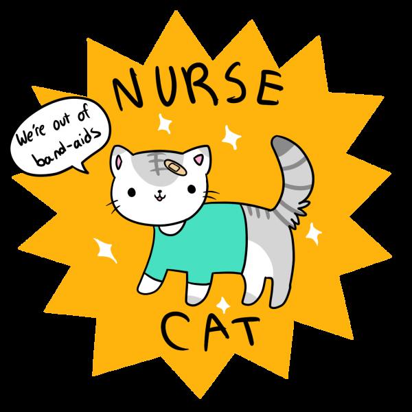 Nurse clipart cat. Free on dumielauxepices net