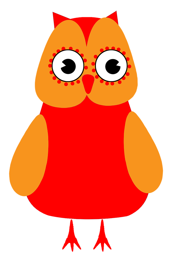 Owls clipart red. Owl clip art lila