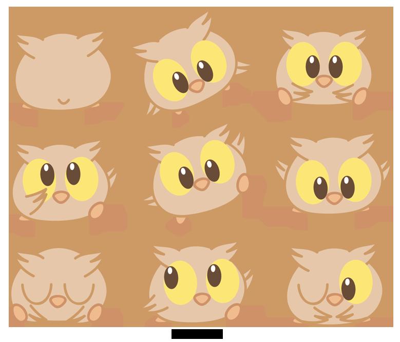 Manatee clipart chibi. Owl by daieny deviantart