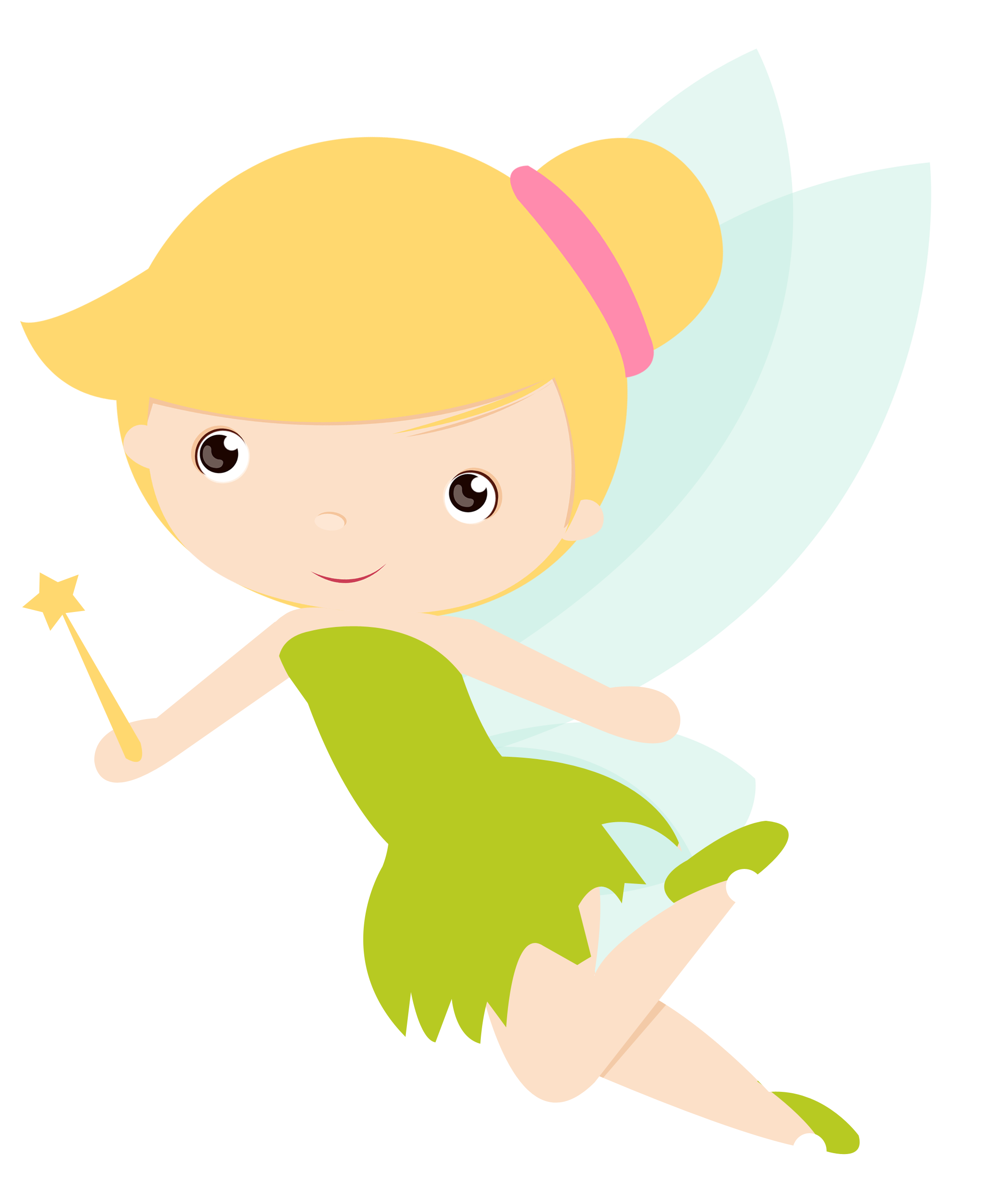 Fairy clipart princess and frog. Peter pan e sininho