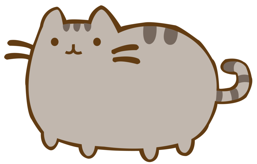 collection of pusheen. Clipart exercise cat