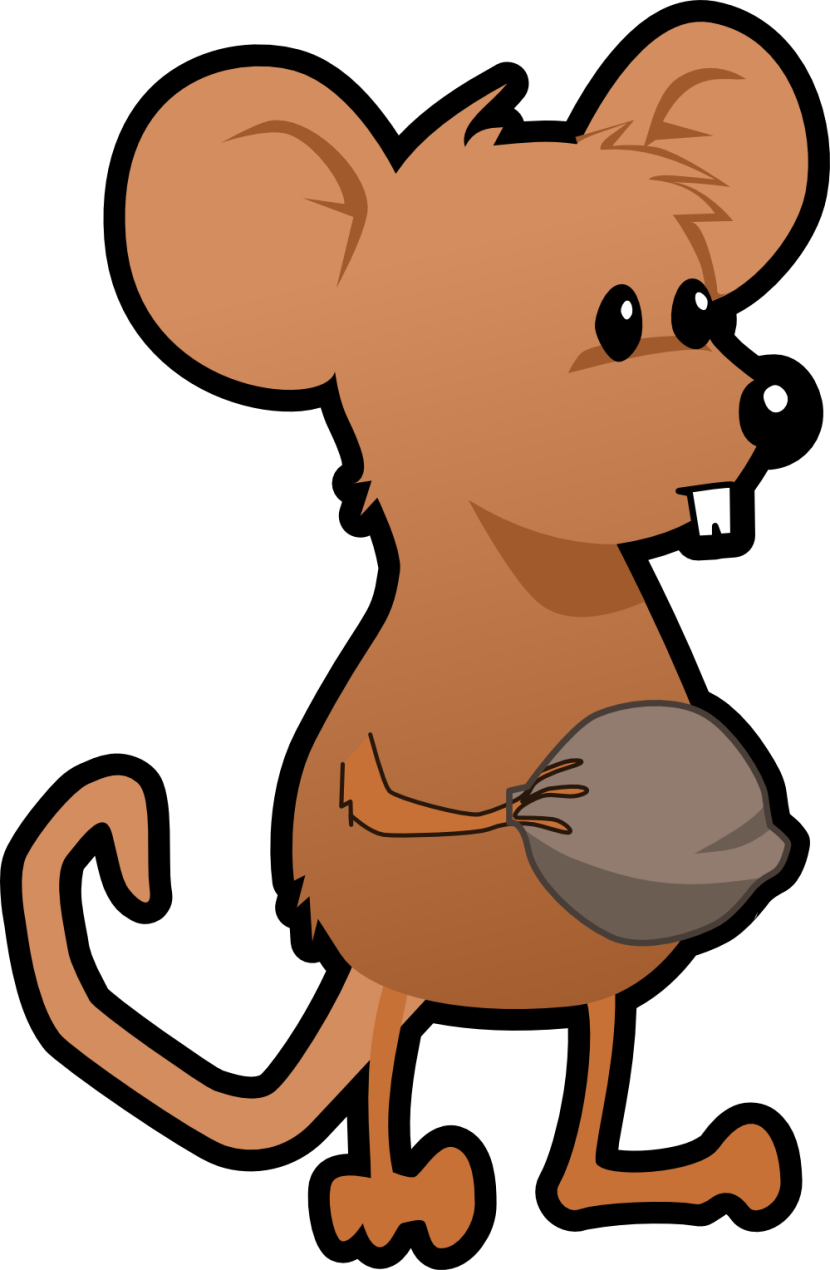 collection of a. Hole clipart rat