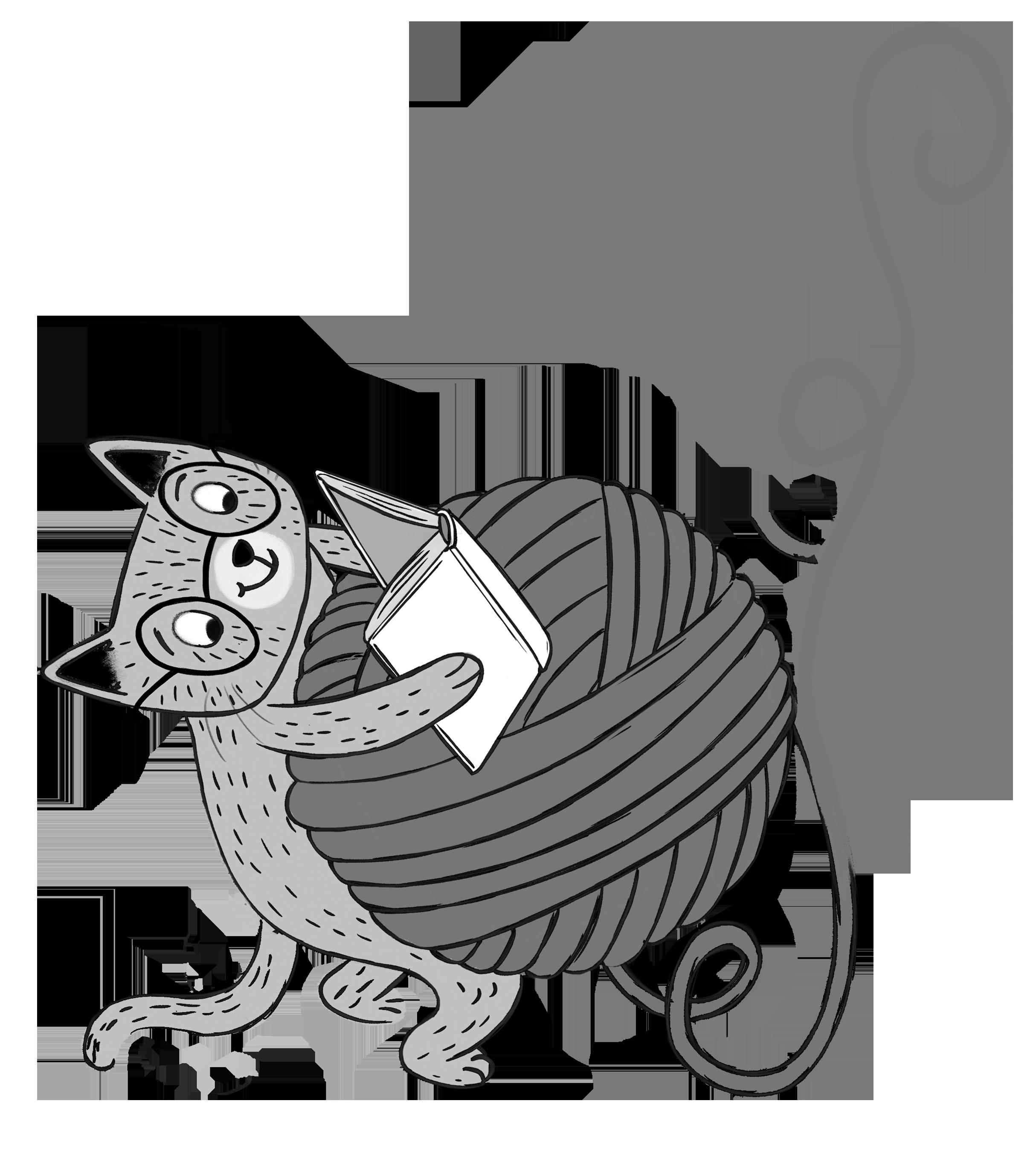 Scholastic canada book fairs. Clipart cat spring
