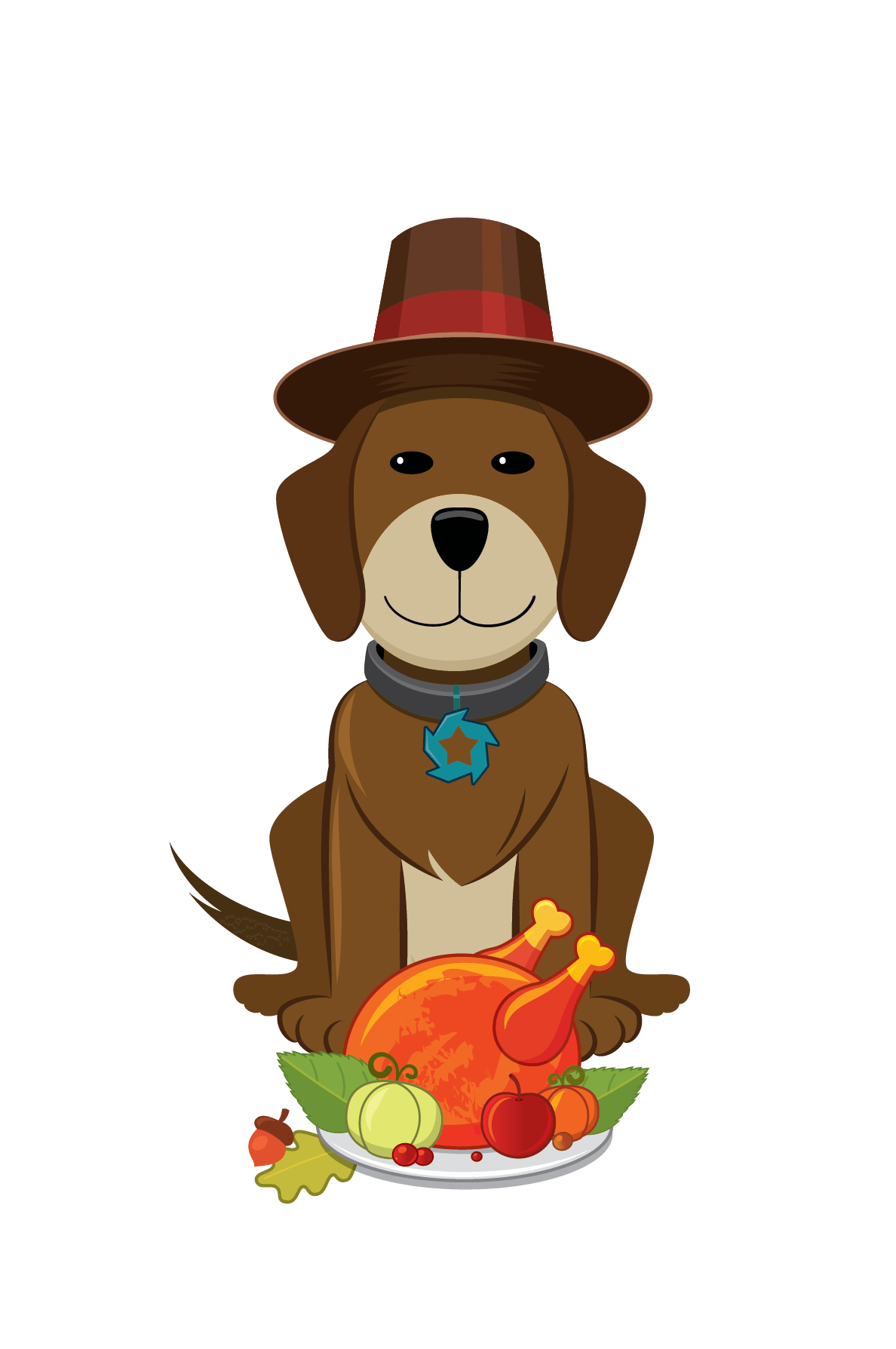 Pet clipart thanksgiving.  collection of dog