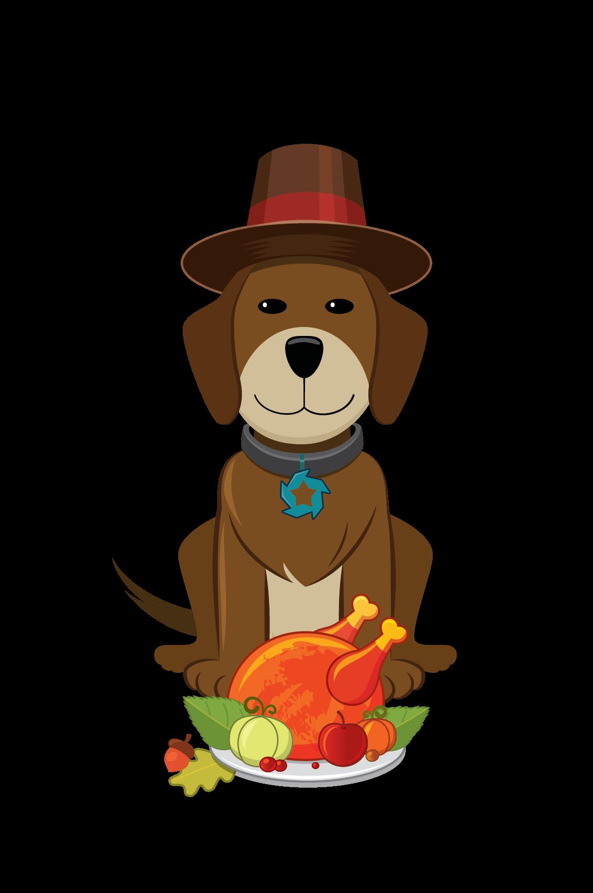 Puppy thanksgiving