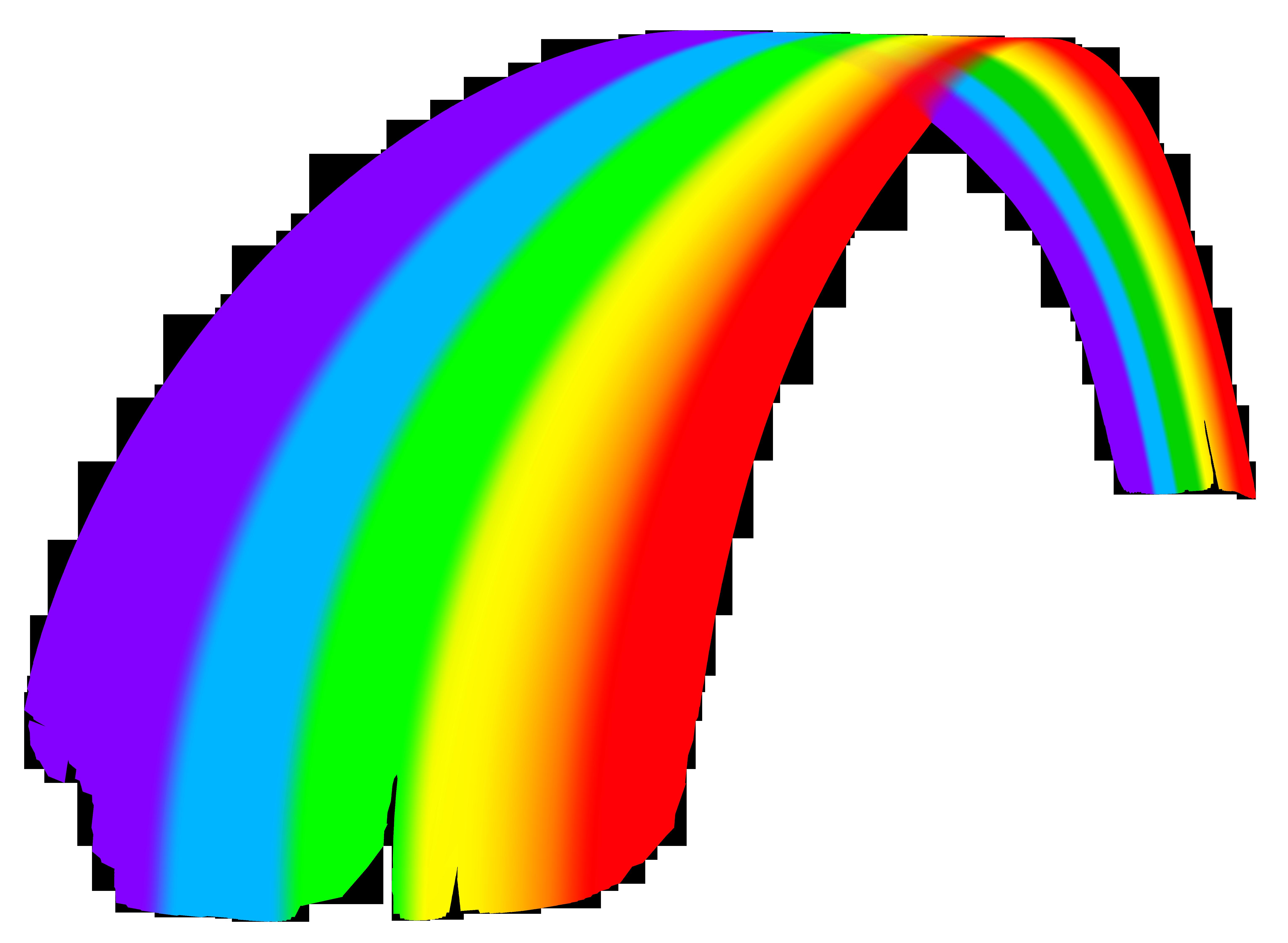 Clipart rainbow rain.  great transparent png