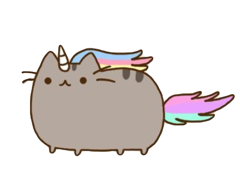 Colors clipart grey. Pusheen cat unicorn whiskers