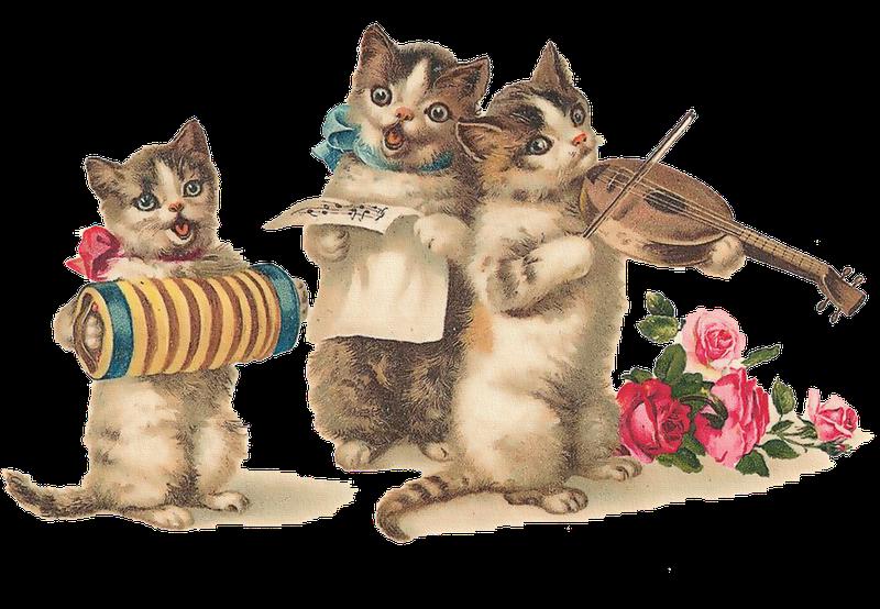 Kittens vintage