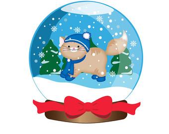 Free cliparts download clip. Winter clipart cat