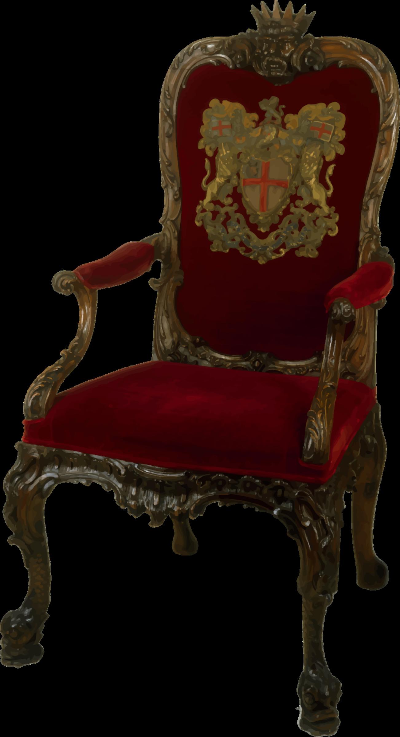 Ornate walnut big image. Clipart chair 3 chair