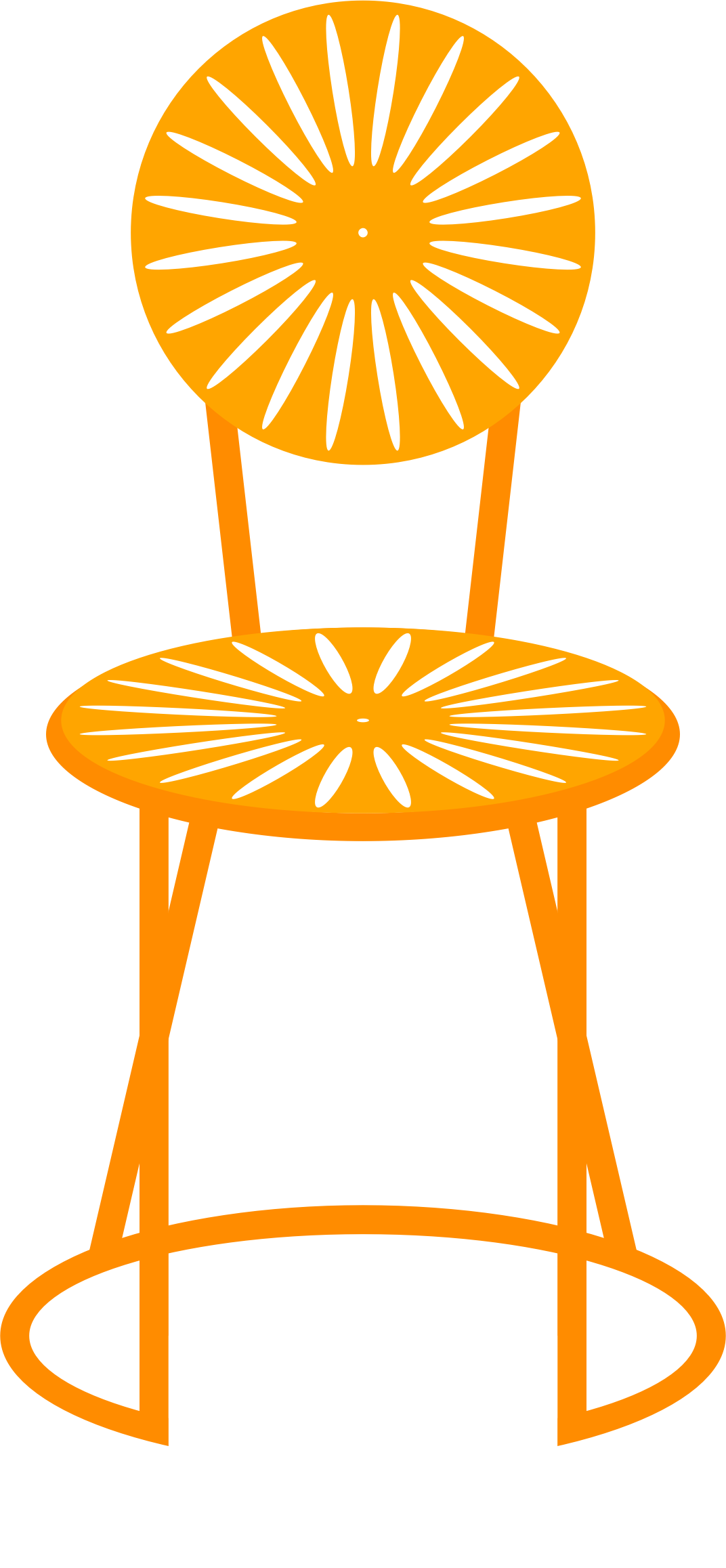 Sunburst big image png. Clipart chair 3 chair