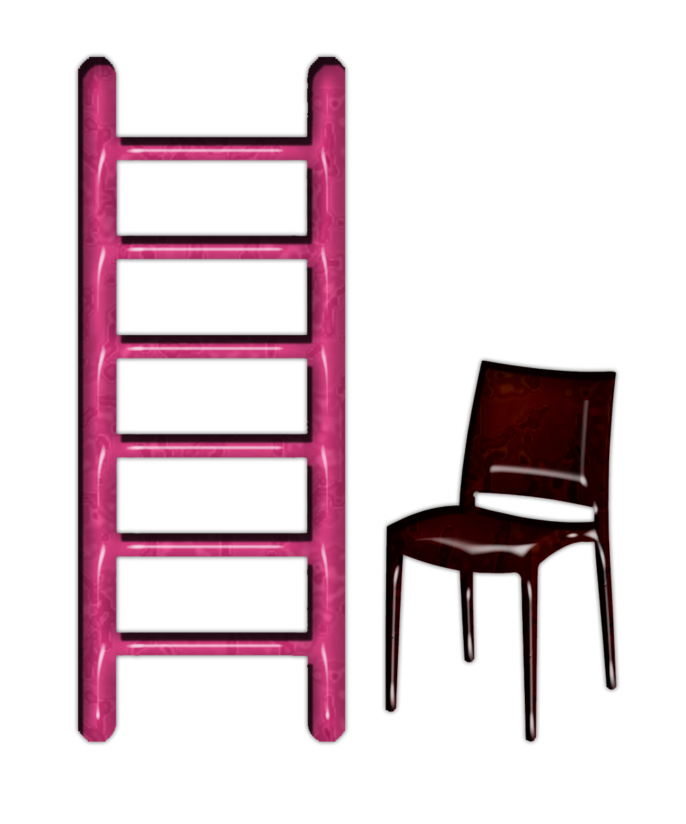 Ladder and png file. Clipart chair 3 chair