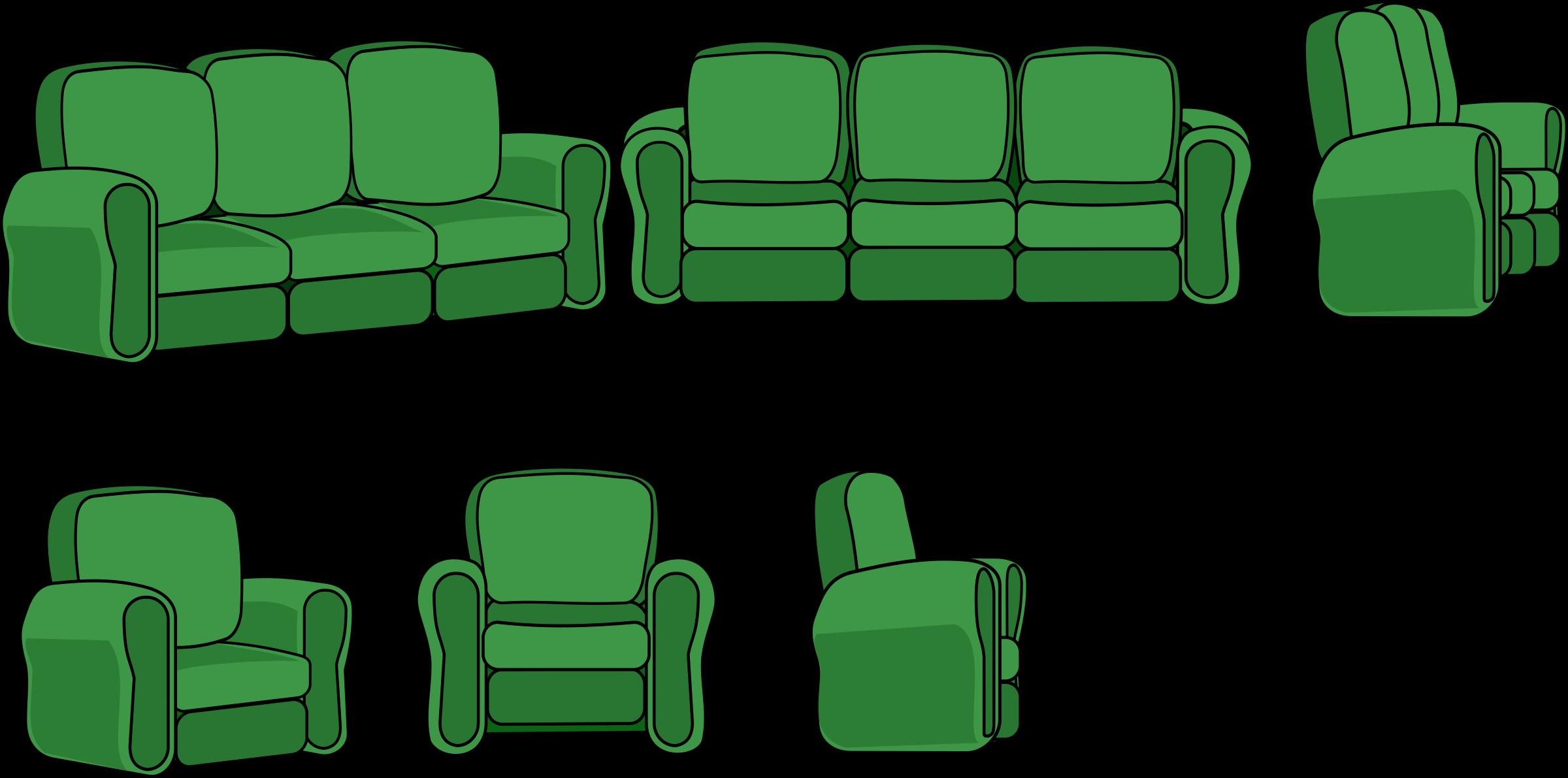 Clipart chair 3 chair. Sofa and views big