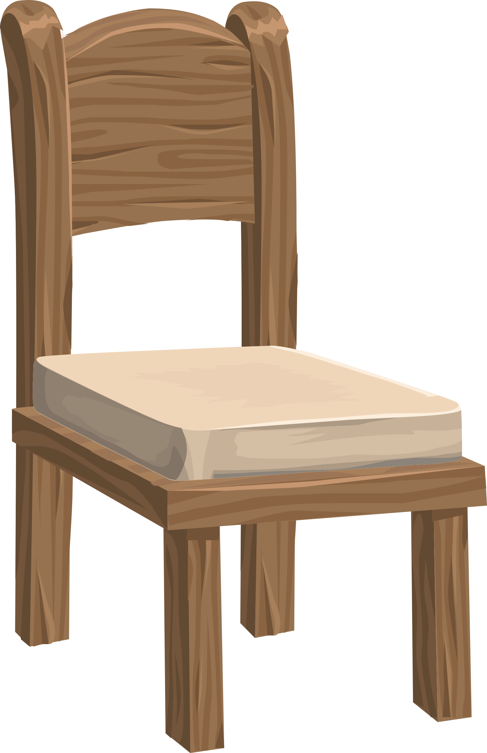 From glitch big image. Clipart chair