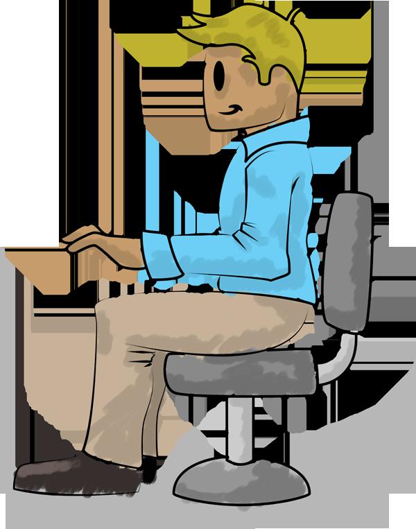 Viewing ergonomics tips for. Foot clipart floor clipart