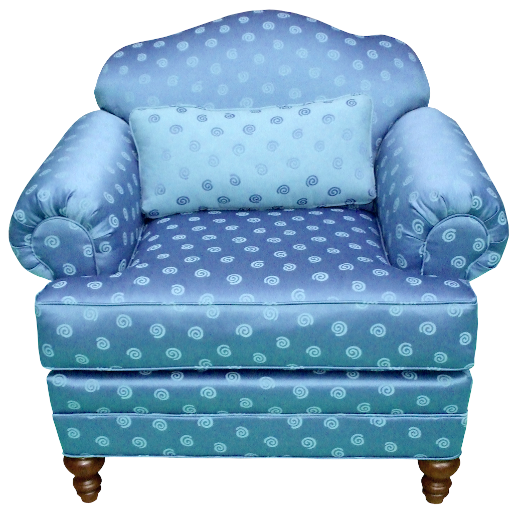 Transparent blue png gallery. Furniture clipart arm chair