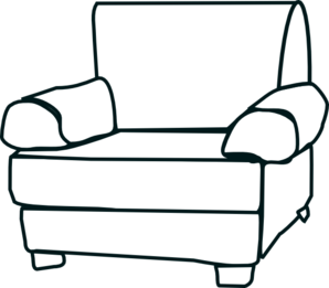 Free armchair cliparts download. Furniture clipart arm chair