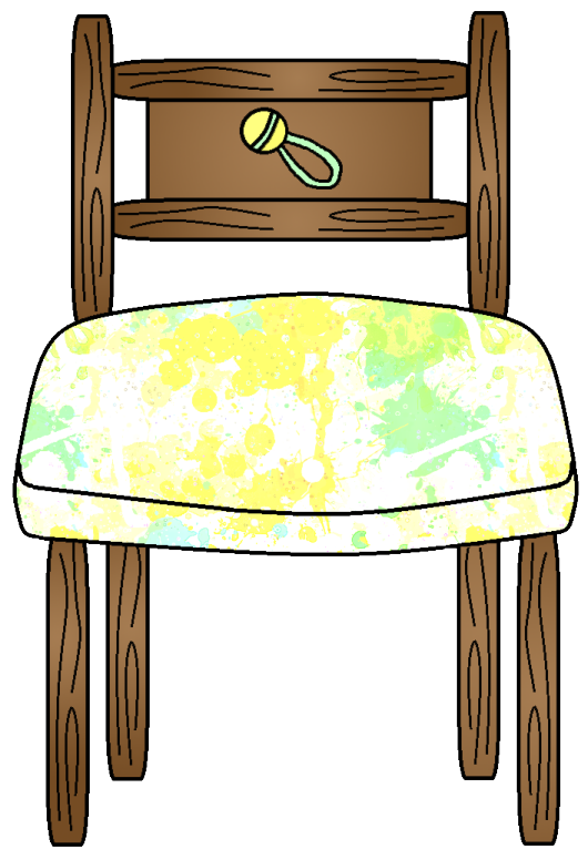 Graphics by ruth goldilocks. Clipart chair baby bear