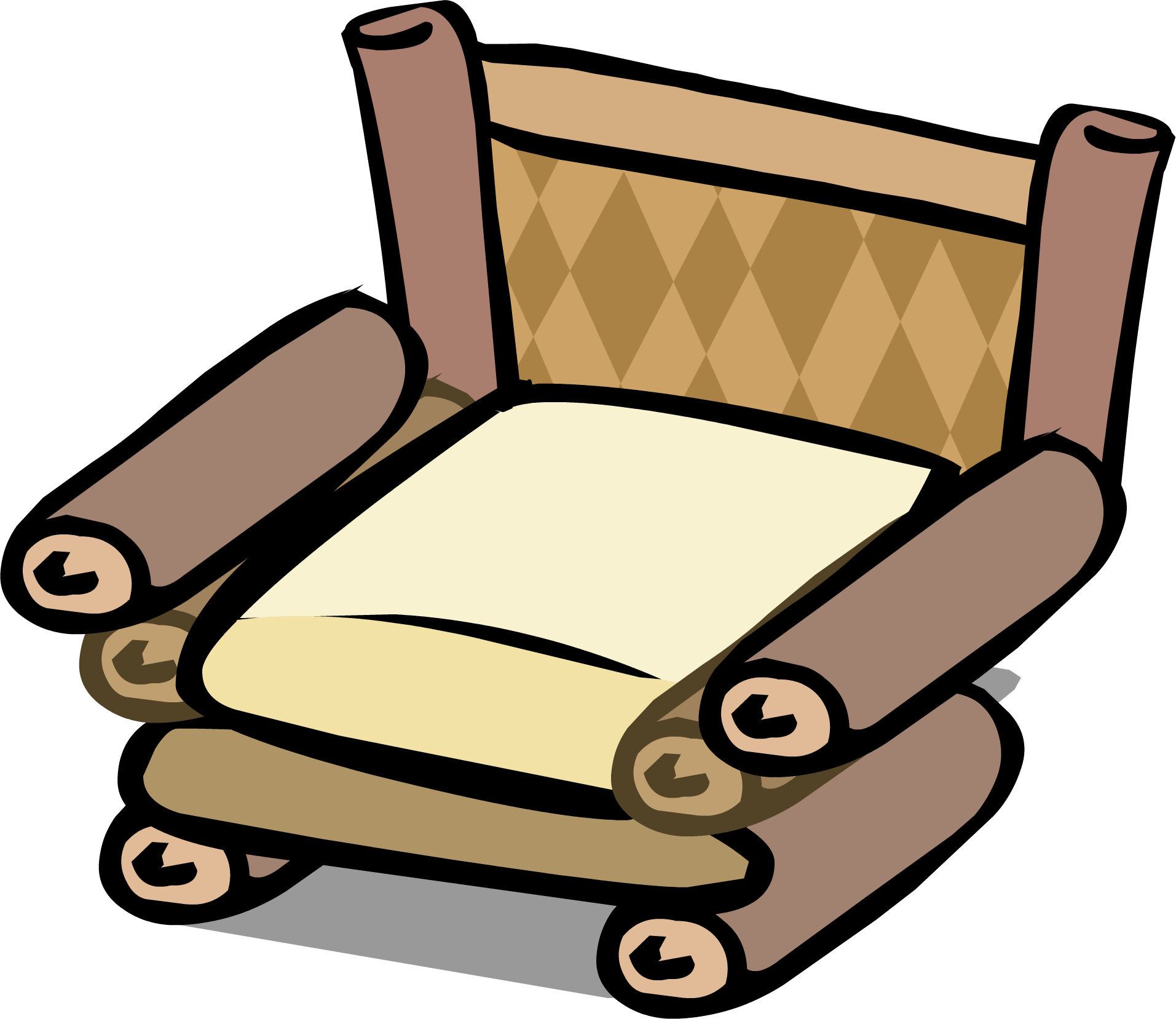 Image sprite png club. Clipart chair bamboo chair