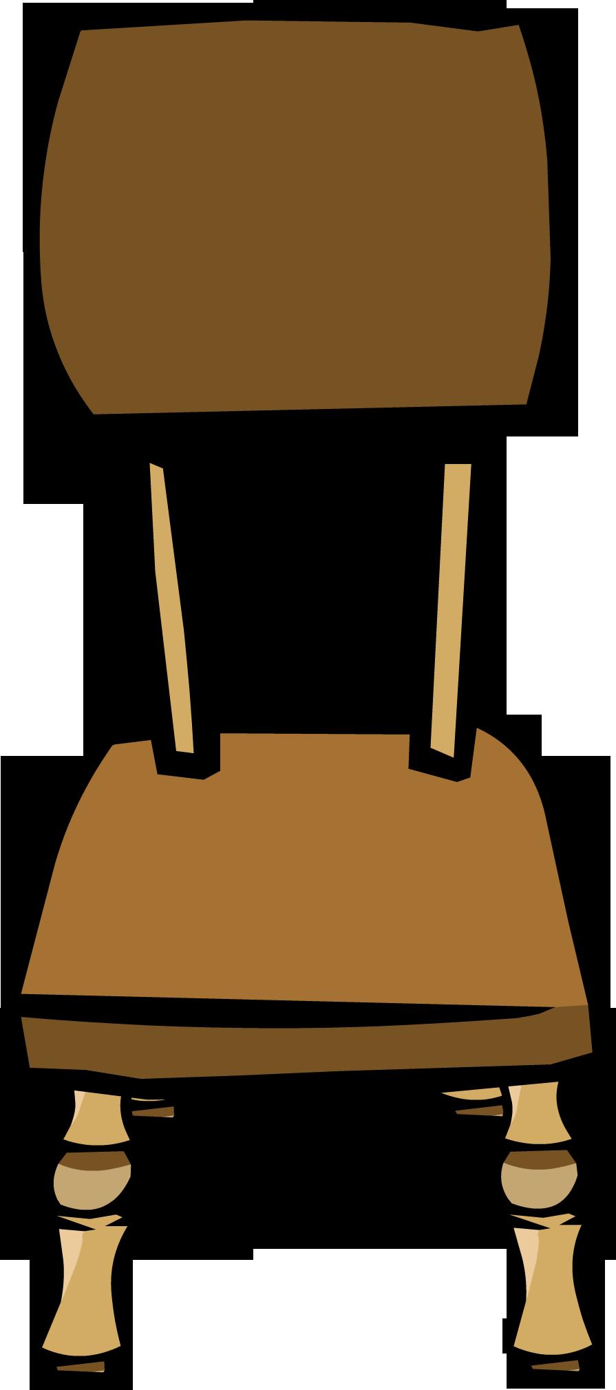 Dinner club penguin wiki. Clipart chair bamboo chair