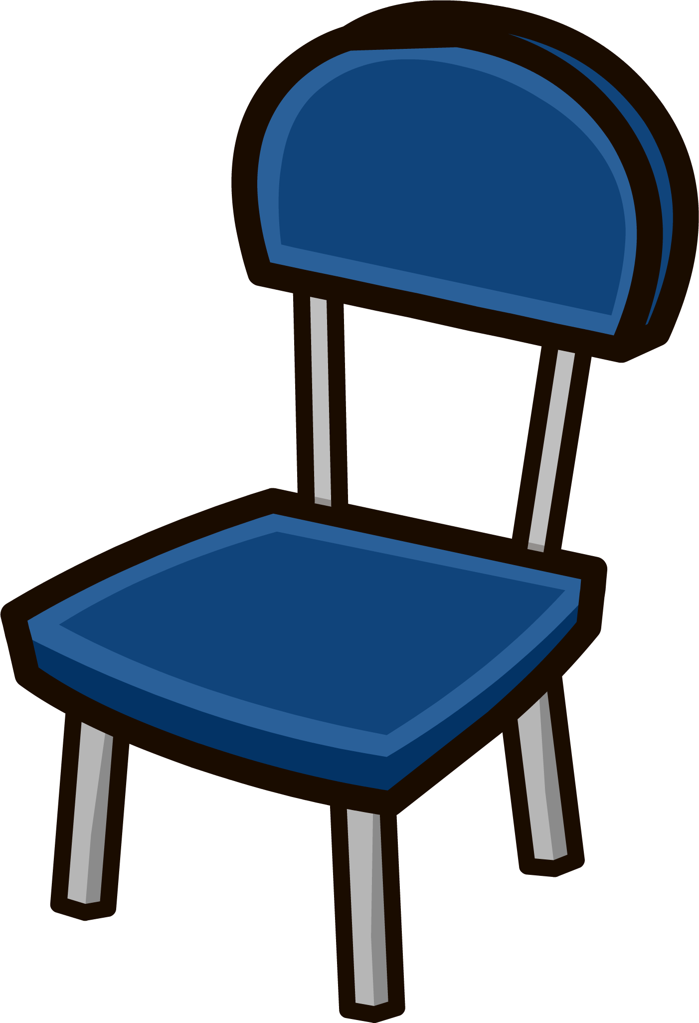 Clipart chair blue chair, Clipart chair blue chair ...