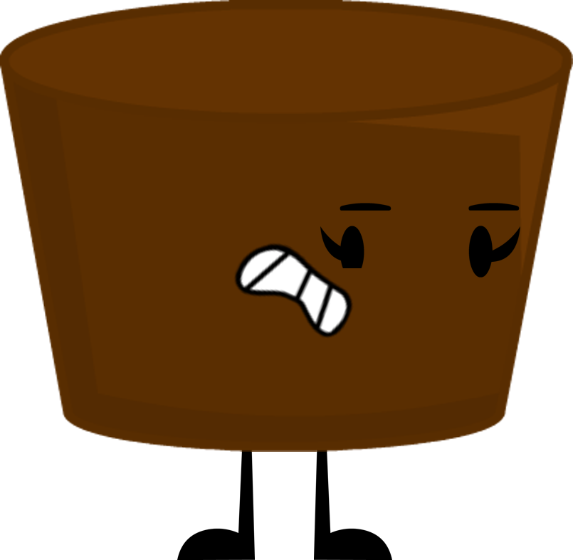 Clipart chair brown object. Image brownie bite pose
