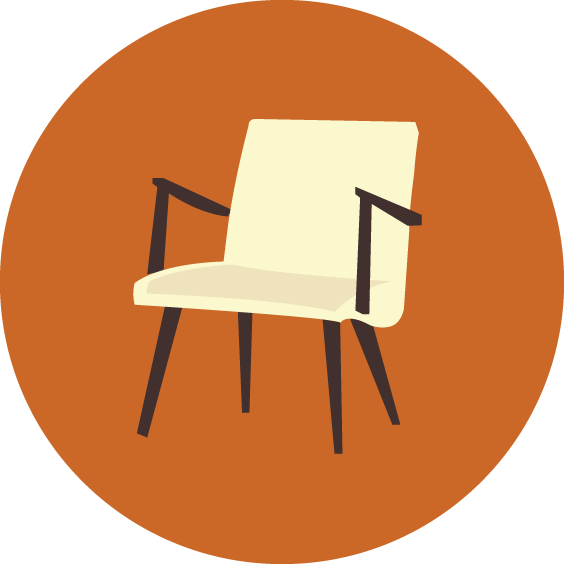Keereo adrian pearsall for. Clipart chair brown object