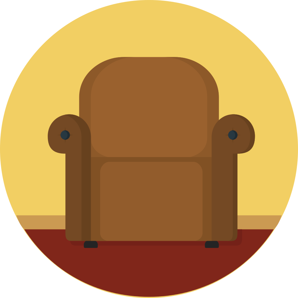 Clipart chair brown object. File creative tail objects