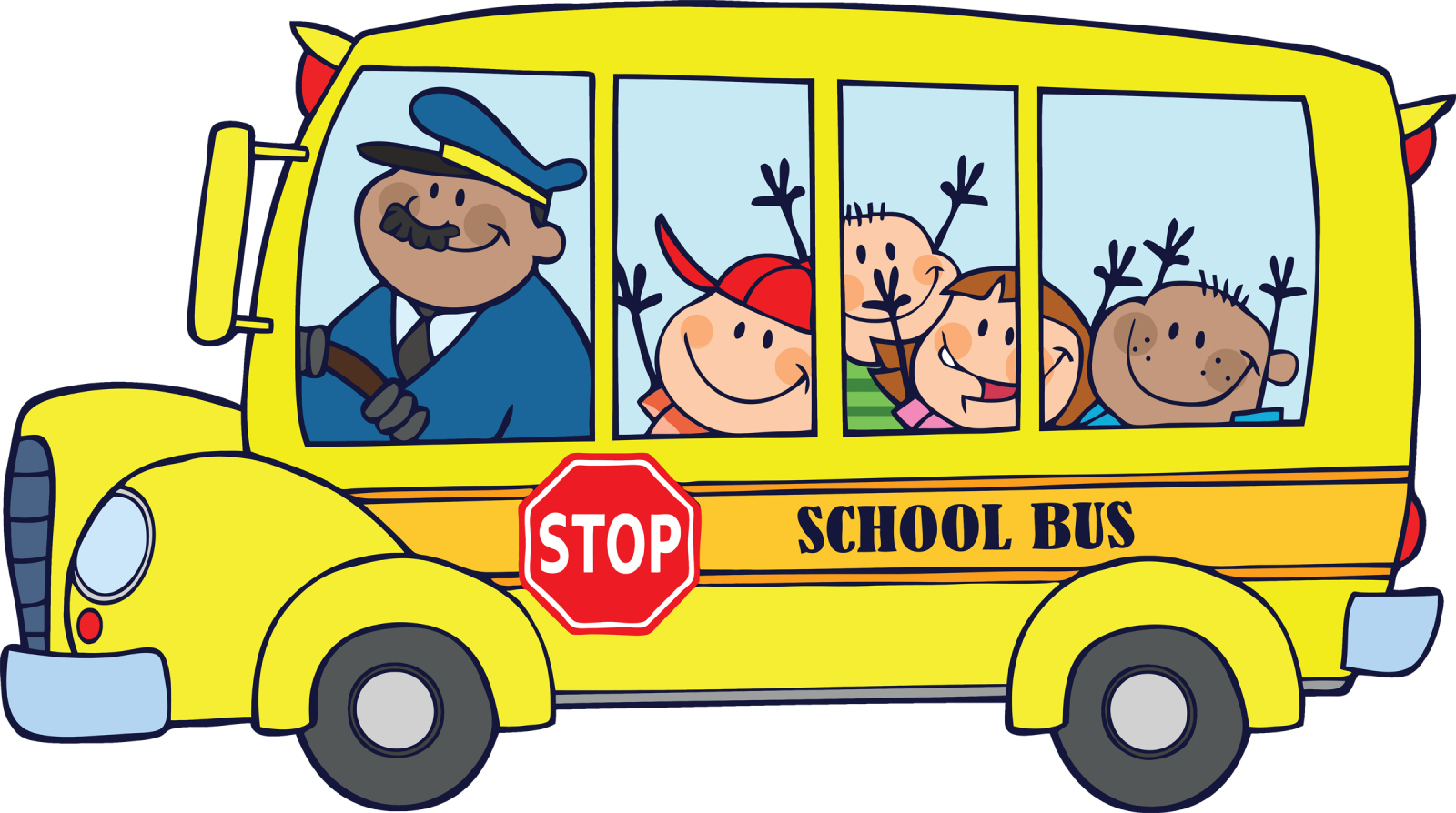 collection of sitting. Driver clipart school