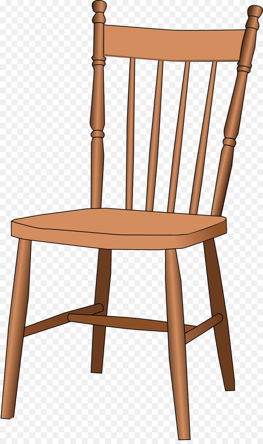 Clipart chair cartoon. Wood table transparent clip