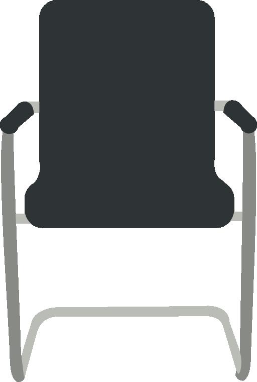 Desk black i royalty. Clipart chair class chair