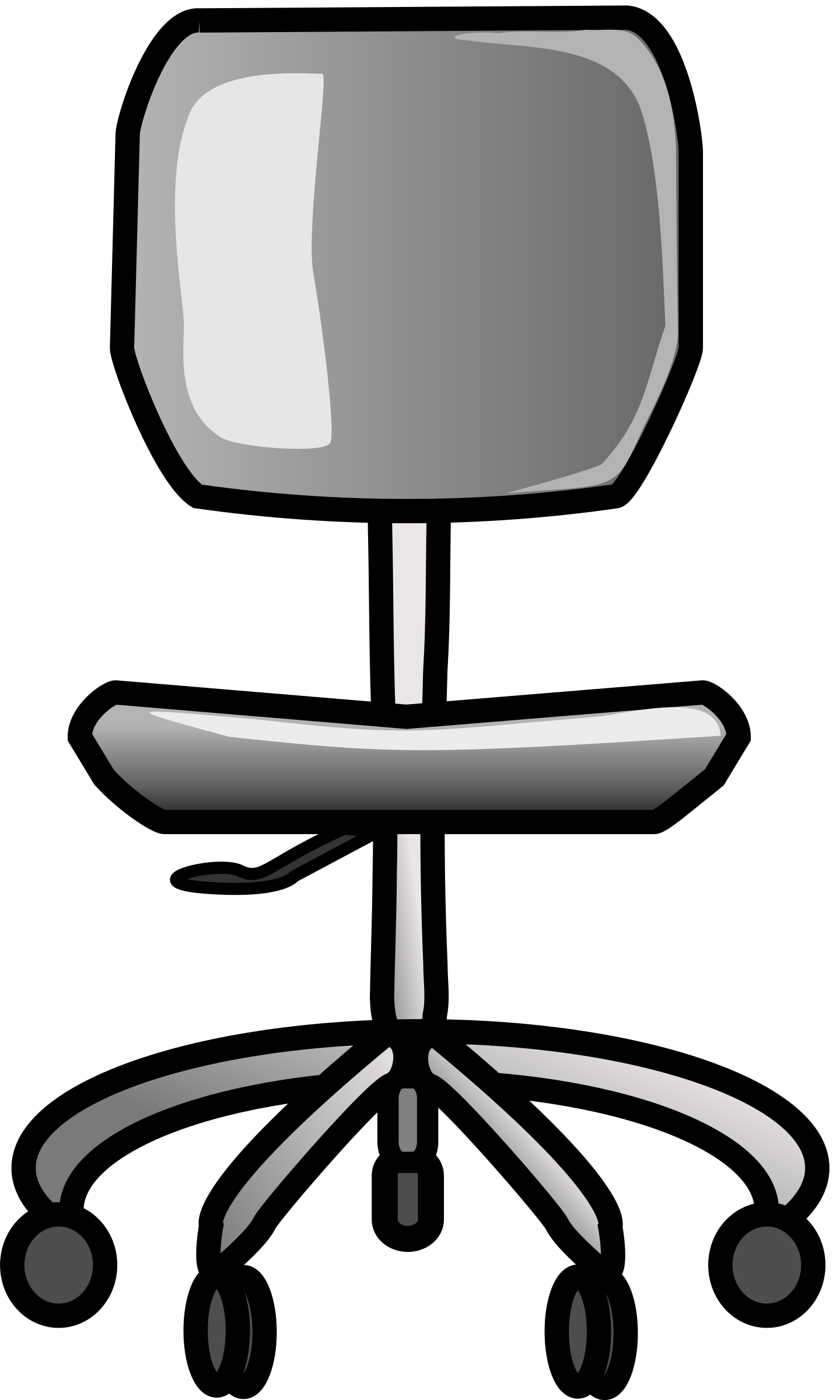 office clipart black and white