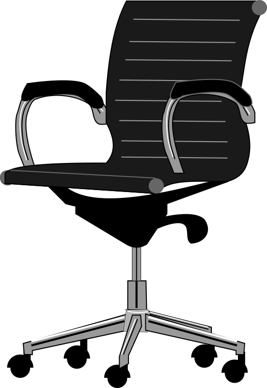 Clipart desk desk chair. Tall office chairs for