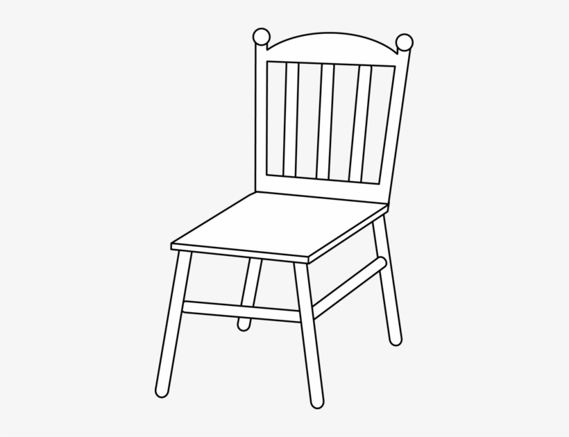 Clipart chair drawing. Line drawings of chairs