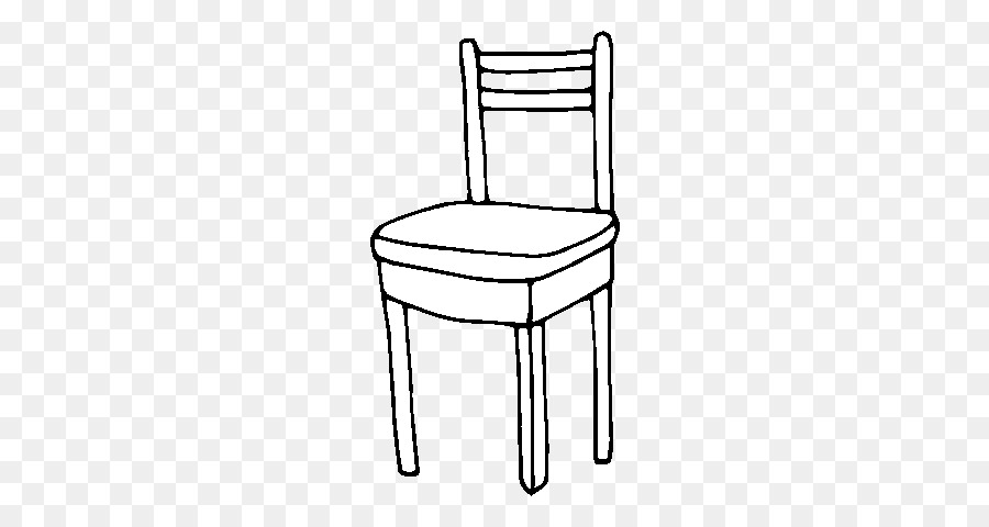 Clipart chair drawing. Book black and white