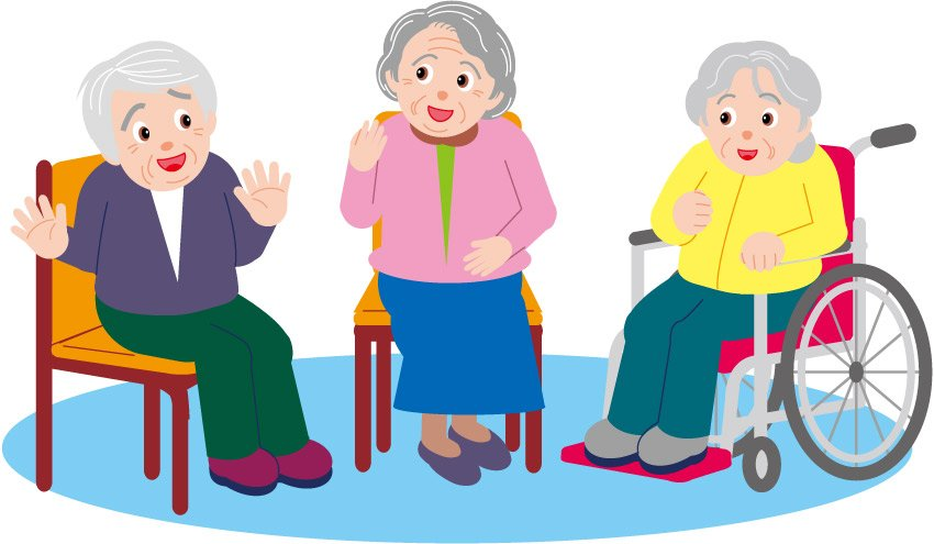 Free elderly cliparts download. Exercising clipart senior exercise