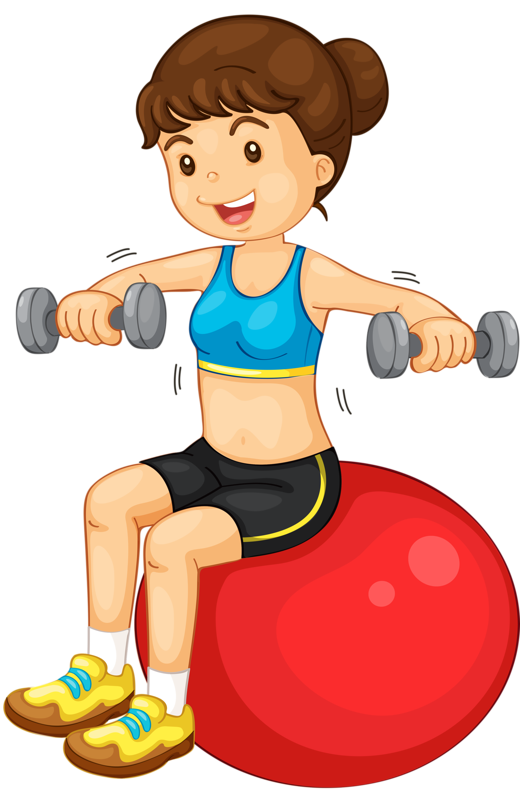 Exercising clipart childrens.  deti pinterest clip