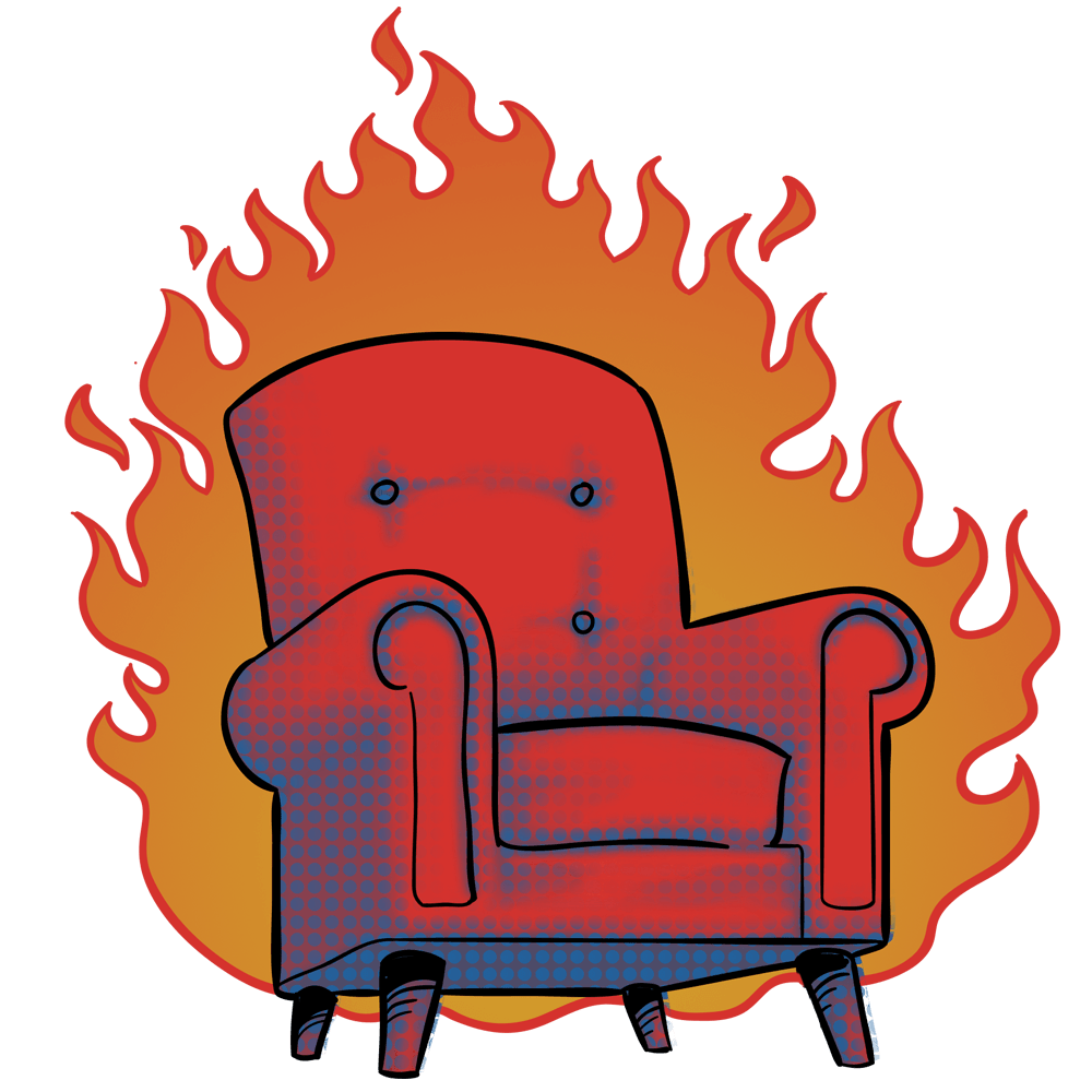 Hot seat pencil and. Game clipart chair