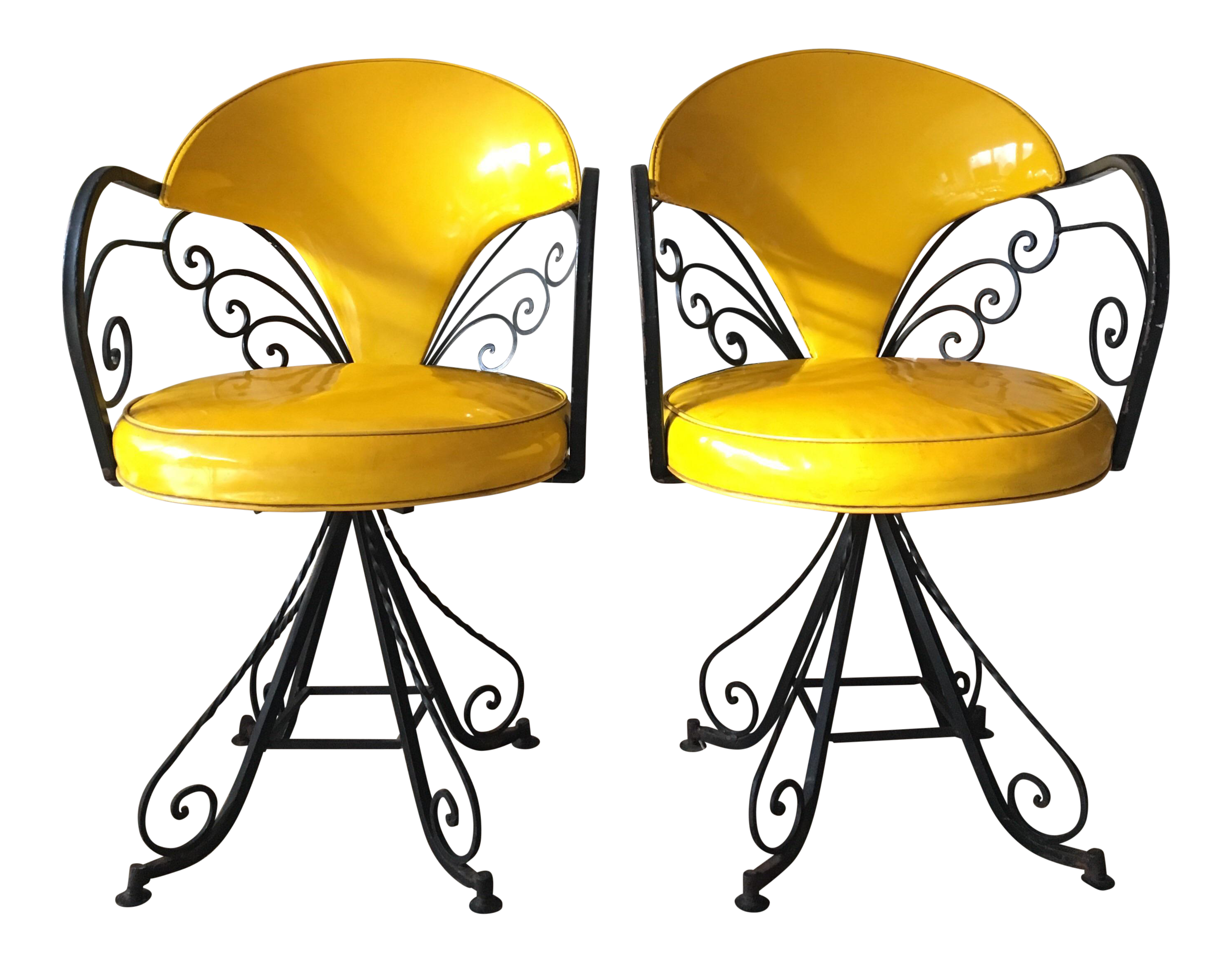 Hollywood clipart hollywood vintage. Regency swivel chairs in