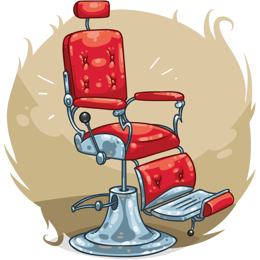 Game clipart chair. Item detail barbers itembrowser