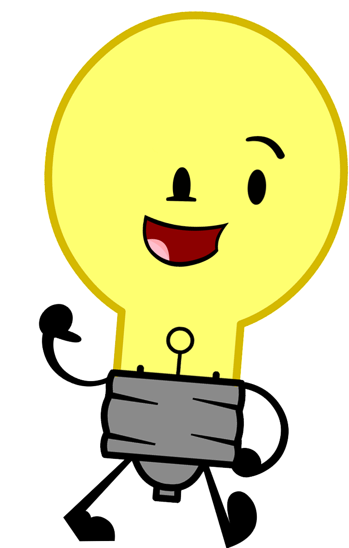 Flashlight clipart cute. Image lightbulbcastidle png inanimate