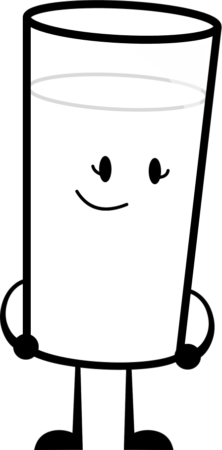 Image png inanimate insanity. Clipart milk spoiled