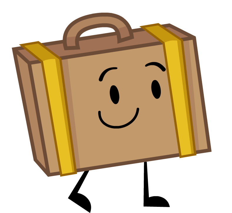 Image suitcasepro png inanimate. Crazy clipart insanity